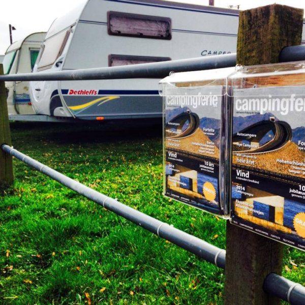 Reparation af campingvogne klar til sommerferie
